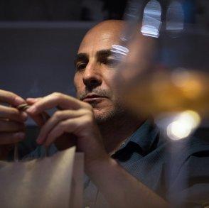 Gianluca Ladu, portrait, Vinoir Milan, Vini naturali, Natural wines, Vini Biodinamici, Vini Permaculturali, Vini Biologici, Biodinamic wines, Organic wines, Permacultural wines.